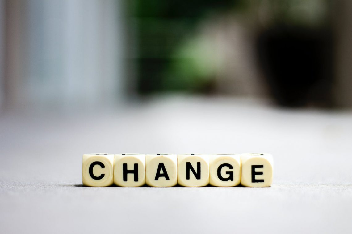 shallow focus photo of change